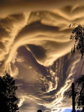 Un asperatus en Nouvelle-Zélande (Ile du Sud). Source : Cloud Appreciation Society / Tanis Danielson